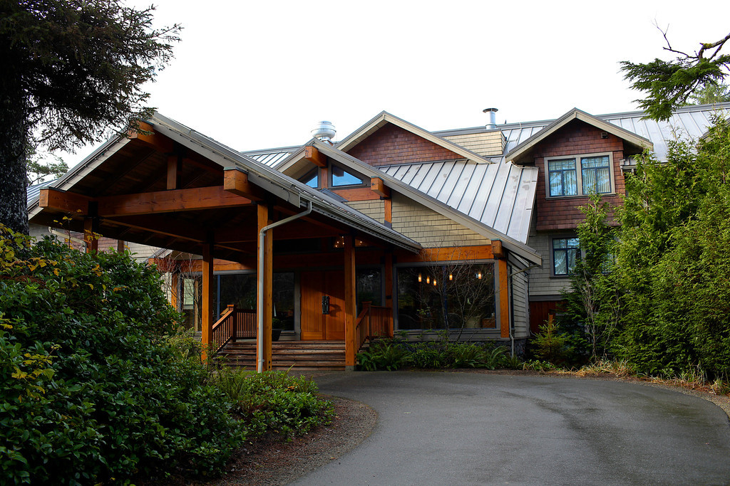 The Long Beach Lodge is another of Tofino's premier lodging options.