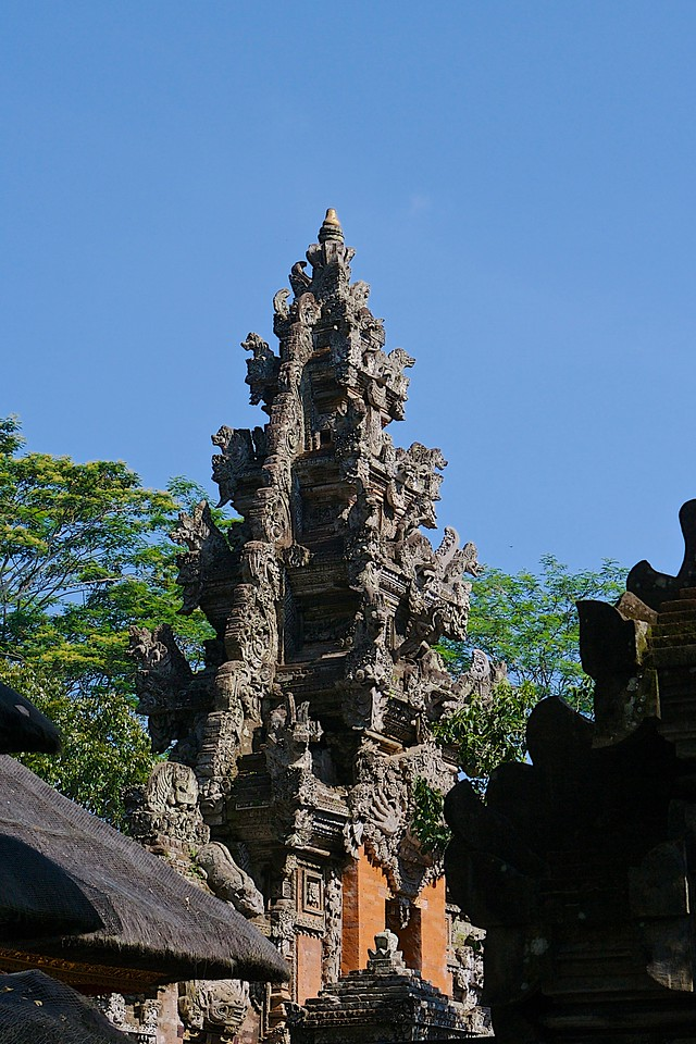 Pura Dalem Agung Padangtegal (Padangtegal Great Temple of Death) -one of the khahyangan tiga or three main temples of the village. What is unique about itis that it is home to a relic, in the form of a Lingga Yoni (a phallus and womb symbol used in the worship of Shiva) that has been located in the bagian utama mandala or inner sanctum of the temple for many centuries and is revered as a sacred artifact