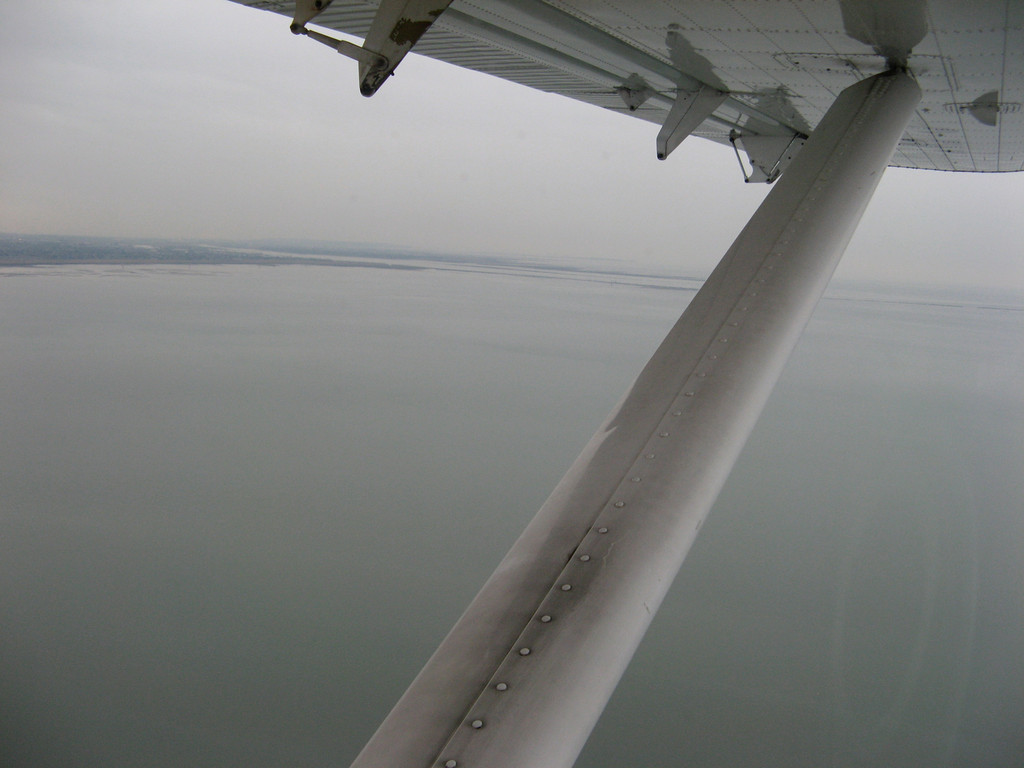 Seaplanes fly at lower altitudes so they can somewhat avoid fog and stormy skies.